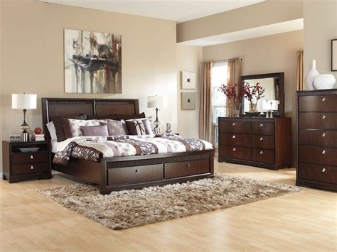 King Size Platform Bed Sets Napoli Modern Platform Bed Creamblack King With Size Bedroom Sets Interalle