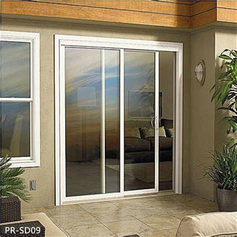 powder coating aluminum large glass sliding doors