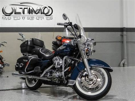 Used Harley Davidson Tour Pack by Used 03 Harley Road King Classic Tour Pack Exhaust Grips