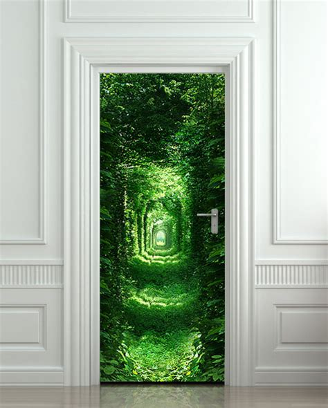 Door Wall Murals 10 Cool Wall Door Stickers Murals Decoholic