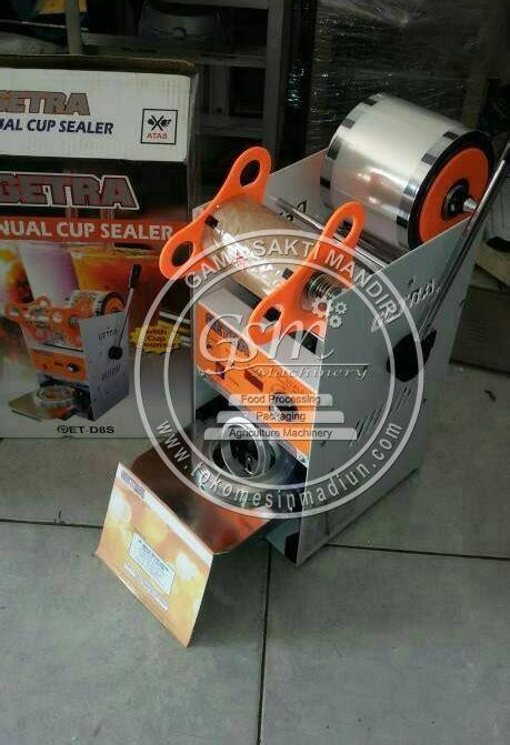 Alat Teh Poci mesin cup sealer manual toko mesin madiun