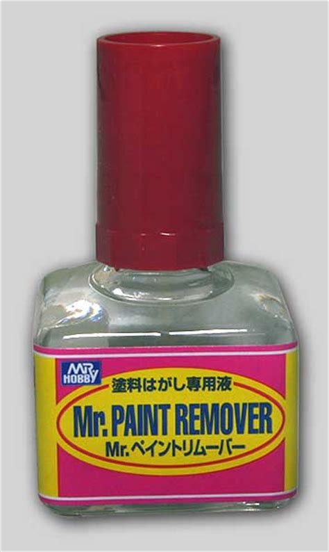 Mr Paint Remover By Animemachi mr paint remover 40ml mr hobby t 114