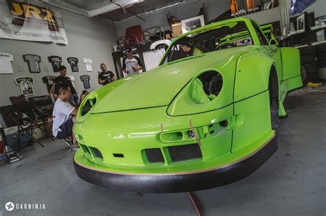 rwb porsche yellow rwb porsche 993 neon yellow by rwb los angeles carninja
