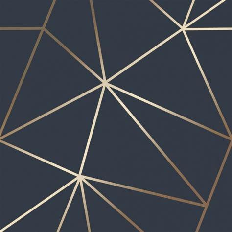 zara shimmer metallic wallpaper navy gold wallpaper