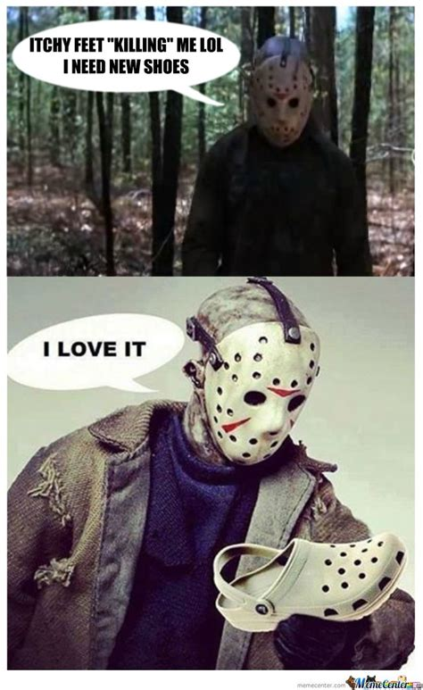 Jason Voorhees Meme - 270 best images about funny horror memes gifs on