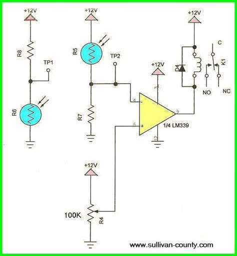 photoresistor sensor circuit using cds photoresistor photocell tutorial
