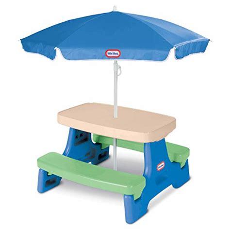little tikes garden bench little tikes easy store jr picnic table with umbrella