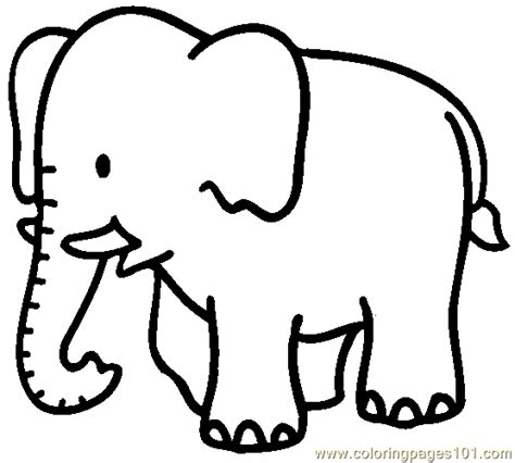elephant coloring page 04 coloring page free elephant