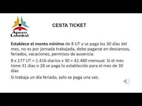 monto de cestatickets socialista venezuela 2016 ley de cestaticket socialista agosto 2016 apoyo laboral