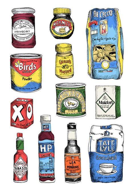 creative review  van millingen food illustrations