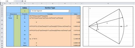 properties of sections section properties update newton excel bach not just