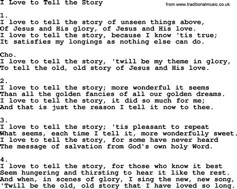 I To Tell The i to tell the story apostolic and pentecostal hymns