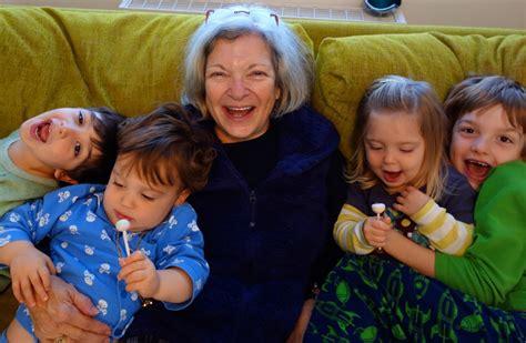 with children grandparent brain child magazine