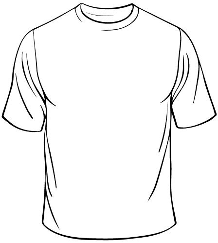 Baju Icon White white t shirt drawing clipart best