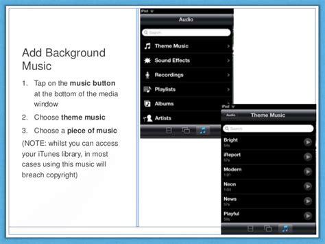 tutorial imovie on ipad imovie for ipad tutorial