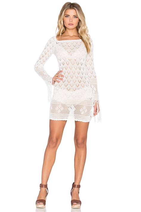 Mini Dress Winnie 10 lyst spell the collective leila the shoulder mini dress in white