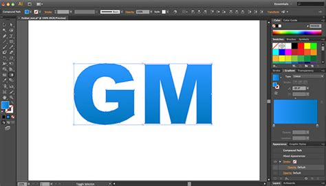 adobe illustrator cs6 gradient text how to create folded text effect in illustrator cs6