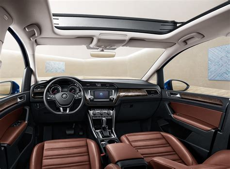 Wallpaper Volkswagen Touran L Sedan Interior Cars