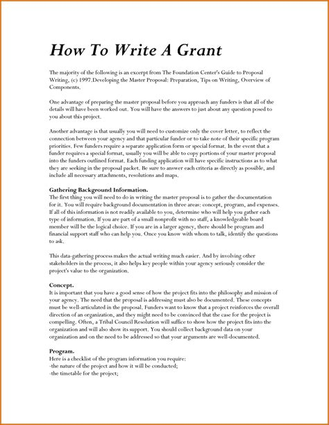 How To Write Grant Cover Letter 5 How To Write A Letter Sle Lease Template