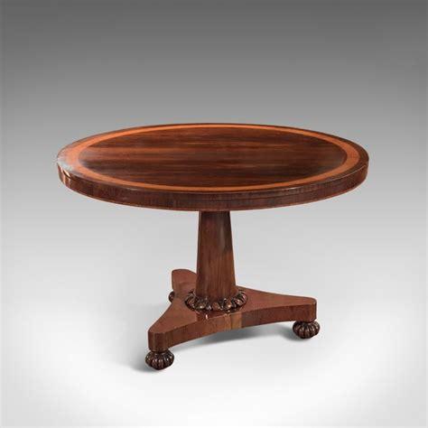 antique breakfast table william iv rosewood tilt top
