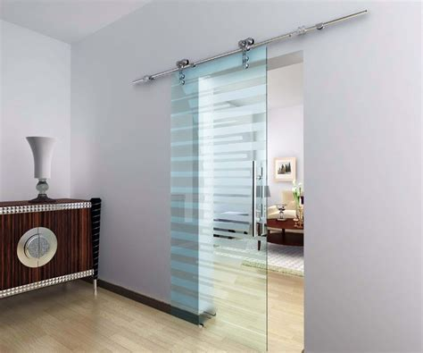 modern barn door hardware for glass door modern