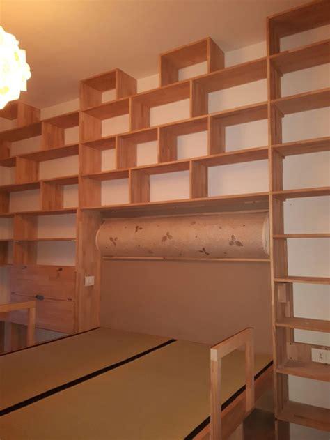 libreria ponte cinius libreria in legno massello faggio massello