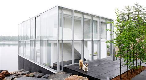cube design house glass cube house canadian lakehouse modern house designs