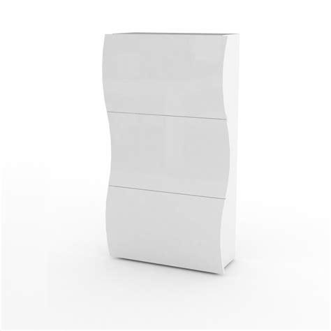 scarpiera ingresso scarpiera a tre ante goccia 33 mobile bianco per ingresso
