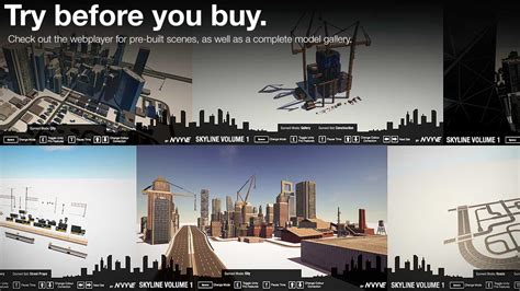 Try Before You Buy 2 by Skyline Volume 1 City Builder Pack Unity Community