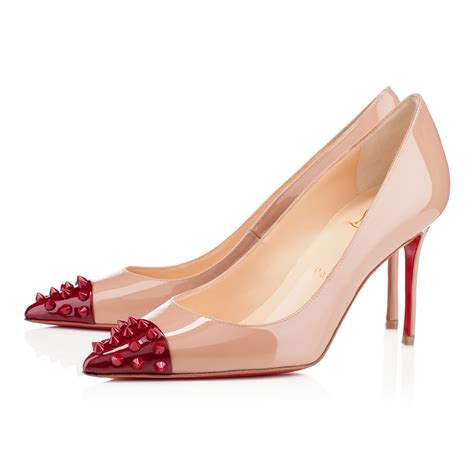 bottom high heels for cheap 2018 christian louboutin bottom geo 8cm high heels