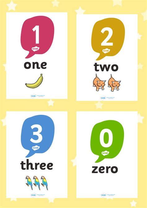 printable numbers twinkl twinkl resources gt gt 0 20 number word image posters