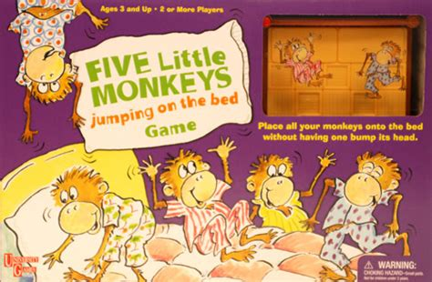 five little monkeys jumping in the bed five little monkeys jumping on the bed game review