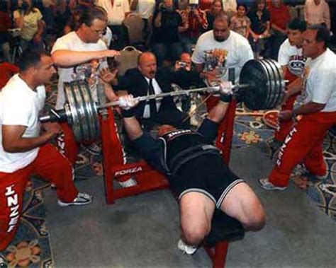 heaviest ever bench press scott mendelson bench press net