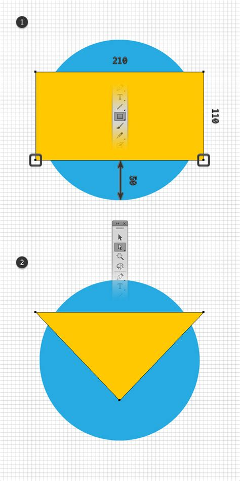 sketchup layout yellow triangle how to create the s h i e l d logo in adobe illustrator