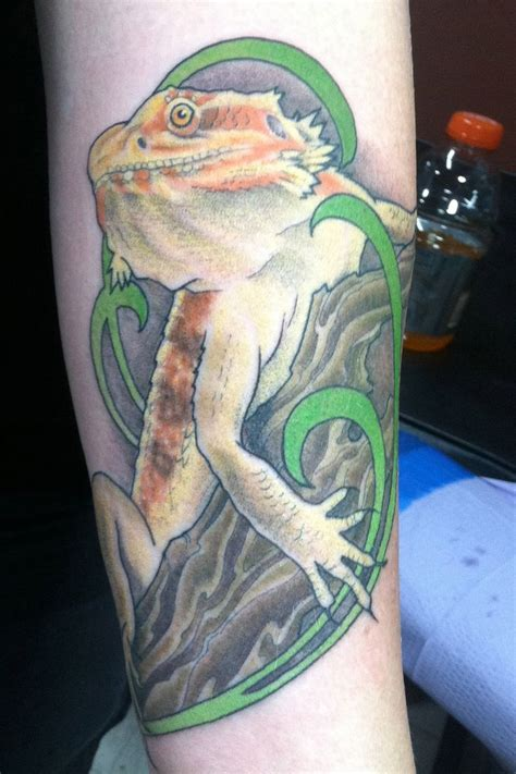 bearded dragon tattoo 17 best images about skin on david hale