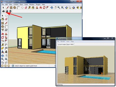 sketchup layout image quality shaderlight from sketchup model to finished render