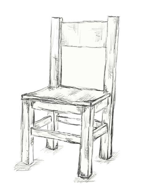 Schrank Gezeichnet by стул иллюстрация штока иллюстрации насчитывающей предмет