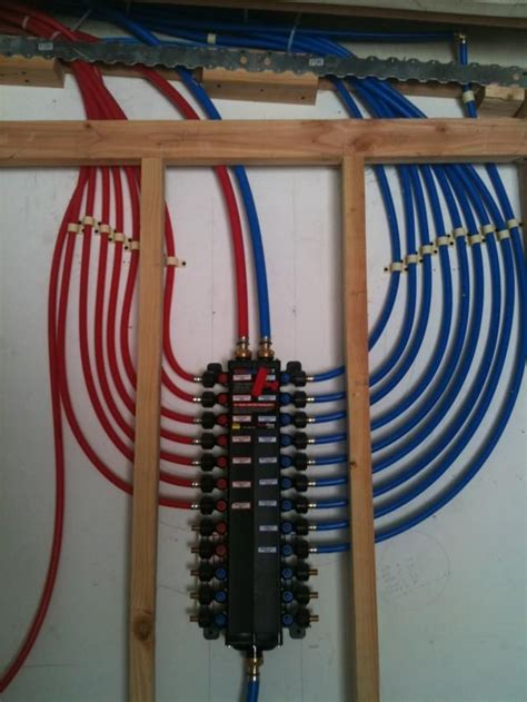 Pex Manifold Plumbing 25 best ideas about pex plumbing on pex tubing plumbing and bathroom plumbing