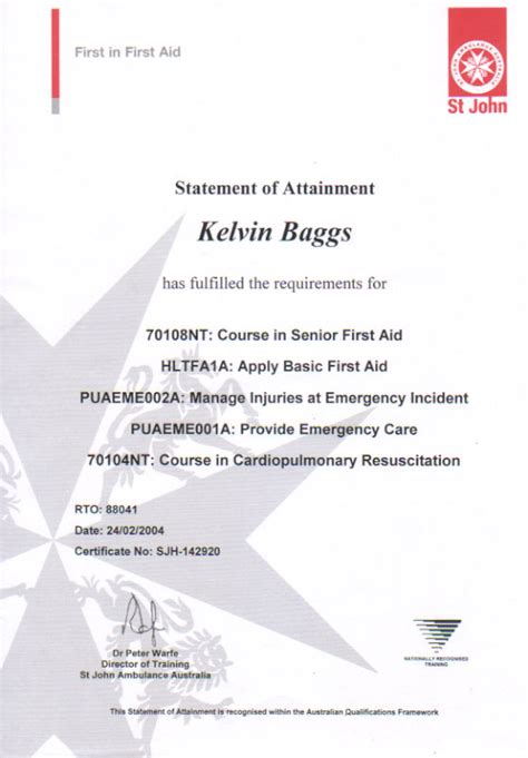 certificate template australia cpr aid certification cpr