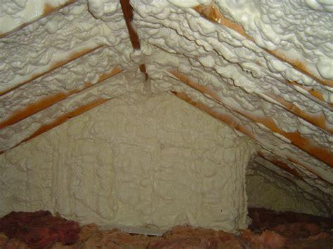 Sprei My B4 spray foam insulation is not a cure all
