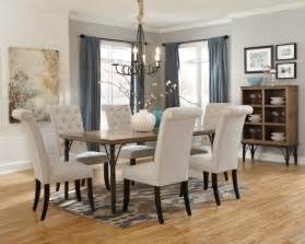 Dinner Room Chairs Tripton Rectangular Dining Room Table D530 25 Tables