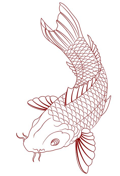 koi fish tattoo stencils designs 21 koi fish design and ideas