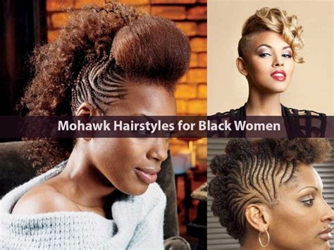 Mohawk Hairstyles For by Mohawk Hairstyles For Black Both And