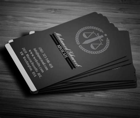 Business Card Templates For Attorneys by Creative Lawyer Business Card 4 On Pantone Canvas Gallery