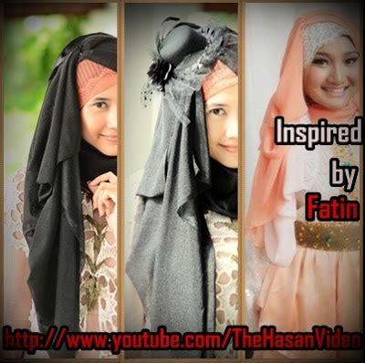 tutorial jilbab fatin segiempat tutorial jilbab untuk hijaber indonesia presenting the