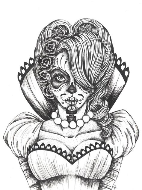 sugar skull coloring pages pdf free download sugar skulls printable coloring pages for kids and for