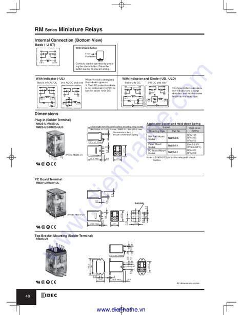 idec relay schematic free wiring diagram idec