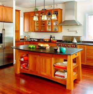 Wooden Kitchen Island by Natural Solid Wood For Kitchen Island And Cabinets