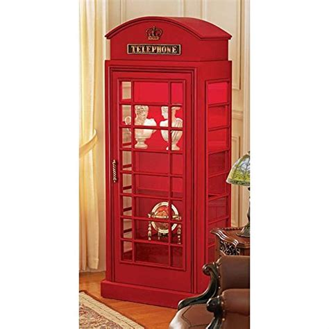 phone booth bookcase phone booth storage cabinet funky home decor