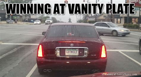 Vanity Plate Ideas For Pilots Winning At Vanity Plate Winning At Everything